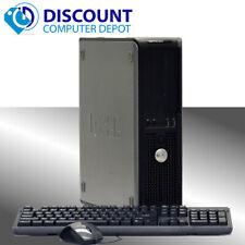 Fast Dell Optiplex Windows 10 Pro Desktop Computer Dual Core 6GB 160GB DVD WIFI