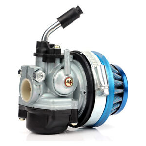 Universal Motorcycle Carburetor with Air Filter For Bike 37cc 50cc 80cc 2 Stroke