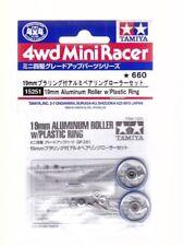 Tamiya Mini4wd - 15251 19mm Aluminum Roller W/plastic Ring