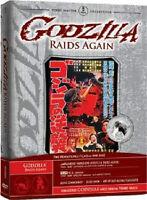 Godzilla Raids Again AKA Gigantis Fire Monster DVD NEW SILVER CASE ED. RARE OOP!
