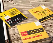 Kodak Wratten 61 Gel Filter 3x3 inch (75mm) SEALED!!! Same Day Ship! NEW!