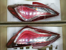 (Fit: 2009-2014 Genesis Coupe ) OEM LED Tail Light Rear Lamp Pair Assy Full Kit