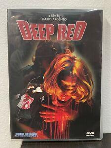 Deep Red (DVD) DARIO ARGENTO GIALLO CLASSIC! OOP! RARE!