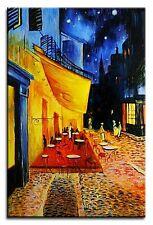 Vincent van Gogh - Nachtcafe 90x60 Ölgemälde Handgemalt Leinwand Signiert G02459