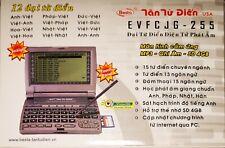 Tân từ điển  EVFCJG-255 BESTA  ENGLISH-VIETNAMESE ELEC. TALKING DICTIONARY