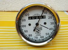 Speedometer Royal Enfield Motorcycle 0-120 MPH White