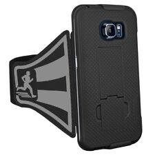 AMZER Shellster Armband - Black For Samsung Galaxy S6 edge SM-G925F