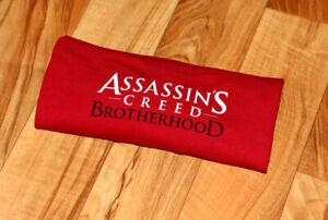 Assassin's Creed Brotherhood Rare Promo T-Shirt Size L PS3 Xbox 360 Ubisoft