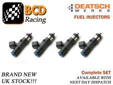 DeatschWerks Subaru Impreza WRX STi EJ20 EJ25 650cc Top Feed Injectors Set of 4