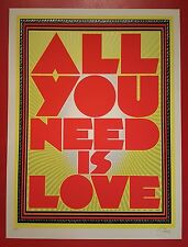Chuck Sperry All You Need is Love  Art Print Signed Numbered Edition 200