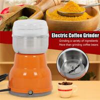 Electric Spice Coffee Nut Seed Herb Grinder Crusher Mill Blender Steel EU PLUG