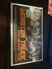 Hess 2007 Monster Truck With Motorcycles NIB Never opened