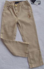 Baby Phat Girls Khaki Jeans with Design(Size 5)