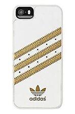 Adidas Basics Premium Geformt Schutzhülle für Iphone 5/5S - Weiß/Gold