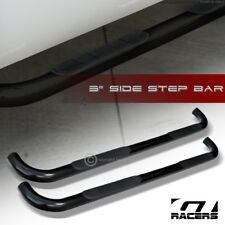 "2001-2003 F150 SUPERCREW/CREW CAB 3"" HD BLK SIDE STEP NERF BARS RUNNING BOARD JL"