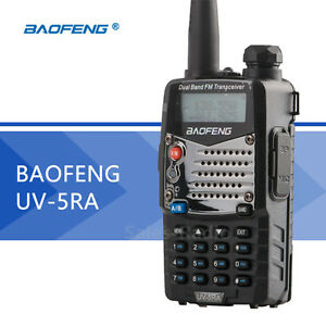 BaoFeng UV-5RA 5W Walkie Talkie  Dual Band VHF/UHF FM Two-Way Radios Transceiver