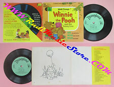 LP 45 7''WINNIE THE POOH AND THE HONEY TREE 24 page book WALT DISNEY no vhs dvd