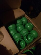 union products blow mold 6 Inch Green Kettle No Gold.