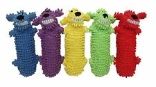 Multipet Loofa Floppy Water Bottle Buddies Dog Toy Colors Vary (Free Shipping US