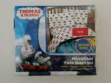2017 Thomas & Friends Microfiber Twin Sheet Set 3 Piece (NEW)