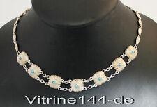 THEODOR FAHRNER ART DECO Silber Collier Türkis silver Necklace signed