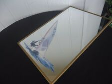 vintage retro wall mirror wind surfing