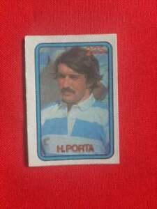 Hugo Porta rugby card Argentina 1979