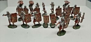 Painted 20 TSSD Ancient Imperial Roman Soldiers NICE !