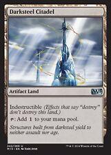 MRM FRENCH Citadelle de sombracier (Darksteel Citadel ) MTG magic M10-15