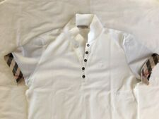 Burberry White Short Sleeves T Shirt, AUTHENTIC, Brand New without tag