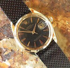 Rolex Men's Solid Gold Case Wristwatches