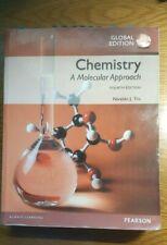 Chemistry A Molecular Approach 4th edition global
