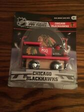 Chicago Blackhawks Wooden Train Engine Works with Brio & Thomas! New!