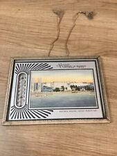 1934 Chicago Worlds Fair Framed Picture, Souvenir of a Century of Progress
