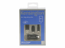 Kensington 1 Amp Car Charger for Mini/micro USB Devices Inc Samsung S7 Edge S6