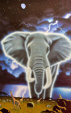 "WILLIAM SCHIMMEL ""SPIRIT OF AFRICA"" GICLEE SIGNED AP#38/50 W/COA ARTIST PROOF!"
