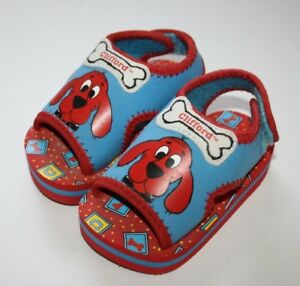 Clifford The Red Blue Dog Sandals Size 5 Boys or Girls New