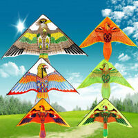 1Pc 1m Eagle Kite Novelty Kites Flying Easy Control Family Outdoor Sports T Hu