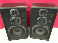 Pair Of JVC SP-E300 BKE - HiFi Speakers - With Cloth Grills