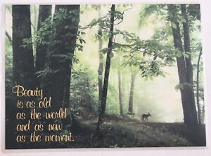 Scenic Quote Greeting Mat With Message Label - 25 cm x 19 cm. *EX -DISPLAY*.