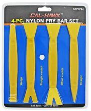 4 Pc. Nylon Pry Bar Set Interior Panel Plastic Trim Molding Remover Auto Tool