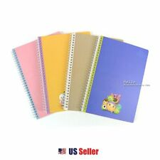 Disney Tsum Tsum College Ruled A4 Spiral Soft Color Notebook