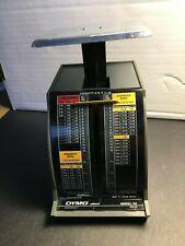 Pelouze Dymo Postal Scale Model X2 5112009 Rates 2 Pound Scale