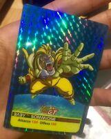 Carte dragon ball - card prism prototype version losange Z*14 lamincards limited