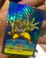 Carte dragon ball - card prism prototype version losange Z*14 lamincards limited