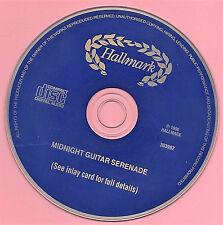 Midnight GUITAR Serenade CD Instrumental Romeo & Juliet Feelings Moon River