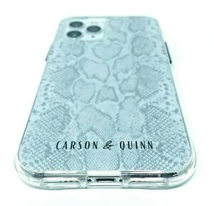Carson & Quinn Slim Case for Apple iPhone 11 PRO and iPhone X/Xs Snakeskin