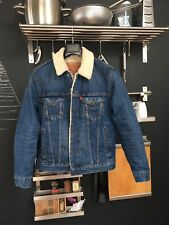 Superbe levis sherpa LVC Denim Trucker Shearling Jacket S Small