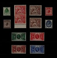GB George V 1924-35 COMMEMS Stamps ALL UNMOUNTED MINT inc 1925 Wembley REF:QK703