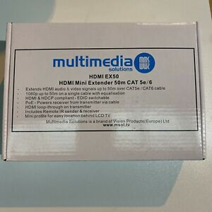 Multimedia Solutions HDMI 50m CAT 5e/6